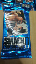WWE WWF SMACKDOWN BRAND NEW SEALED 10 PACKS OF COLLECTORS 7 CARDS A PACK 1999