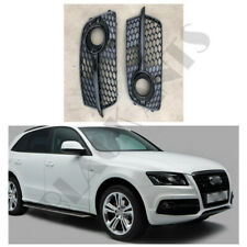 For 2013-17 Audi Q5 / SQ5 All Black Front Fog/Driving Lamps Light Cover