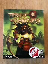 Throne Of Darkness VIdeo Game Big Box