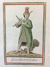 Jacques GRASSET DE SAINT-SAUVEUR (1757-1810) Homme Russe Russie J Larogue 1796