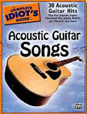The Complete Idiot's Guide to Acoustic Guitar Songs Publishing, Alfred