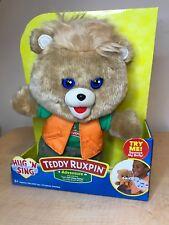 Teddy Ruxpin Adventure Hug 'N Sing New 2018 In Hand Sings Let'S Sail Away Today