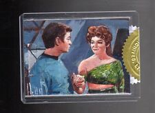 2017 Women of Star Trek 50th Anniversary charles Hall 9 Case incentive sketch