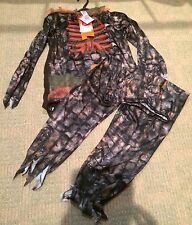 New Year Outfit Zombie Skeleton 9-10yrs New Fancy Dress With Tags Boy Noise