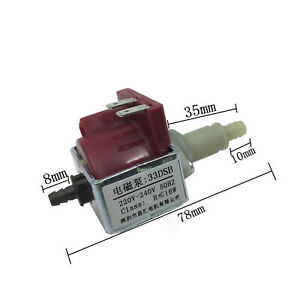 220V 16W Electromagnetic Pump 33DSB Parts For Steam Mop Water Micro Pump