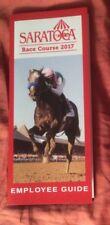 2017 Saratoga Race Course Employee Guide, Arrogate