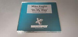MIKE KOGLIN FEAT BEATRICE - ON MY WAY 1999 CD SINGLE CLASSIC TRANCE!