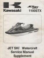 1998 KAWASAKI JET SKI 1100STX  SERVICE MANUAL SUPPLEMENT 99924-1221-51 (642)