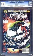 SPIDER-MAN/VENOM  SUPER SPECIALS PART 1-5  CGC 9.8 WP PLANET OF THE SYMBIOTES!