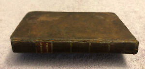 ABRAHAM LINCOLN BOOK - LEATHER - ENGLISH GRAMMAR IN FAMILIAR LECTURES (1830)