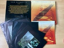 LED ZEPPELIN 1990 UK 6 X LP BOX SET + INNER SLEEVES + 36 PAGE BOOKLET EX/EX
