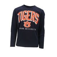 Auburn Tigers Official NCAA Kids Youth Size Athletic Long Sleeve Shirt New Tags