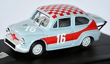 Fiat Abarth 1000 TC Taille 5 #16 Monza 1968 gris rouge Gris rouge 1:43 ProgettoK