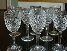 Set of 2 Waterford Crystal Comeragh Claret wine glasses ~Total available Eight~