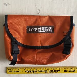 lovelife messenger bag HIP POUCH super rare & HTF timbuk2 ZO BAGS freight ORANGE