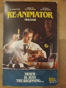 """Re-Animator"" Trilogie - Blu-Ray - OVP -  Kult - VHS Tape Edition"