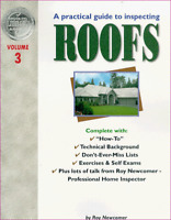 A Practical Guide to Inspecting Roofs Vol.3 by Newcomer Roy