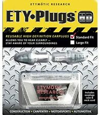 Etymotic Er20 Hd Safety Earplugs High Definition Hearing Standard Fit