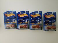 Hot Wheels 2003 Final Run Series Big Rig Wrecker Lot of 4 Free Shipping