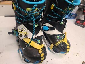 Retro RIDE snowboards Duece Boot W/ Contraband Bindings.   LTD Edtion Dh2...