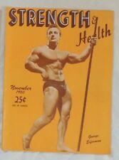 vintage bodybuilding magazine - Strength & Health - 11/1950 - TTBE