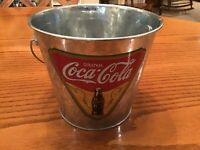 """Coca-Cola, Coke Small Bucket says """"drink Coca Cola'"""