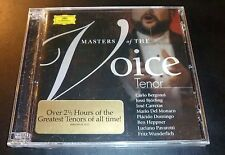 "New! ""MASTERS OF THE VOICE: TENOR"" (2-CD 2004 DG Deutsche Grammophon) **SEALED**"