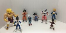 Lot of 8 Vintage Dragon Ball Z  Saiyan Brolly Uub Kai Frieza Goku Vegeta Jakks
