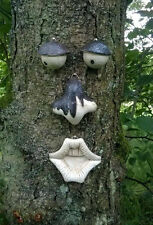 NEW GARDEN TREE FACE NOVELTY GARDEN ORNAMENT DECORATION FUNNY WALL FENCE SHED UK