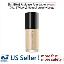 MISSHA Radiance Foundation SPF20/PA++ (No. 17/Ivory) - US SELLER -