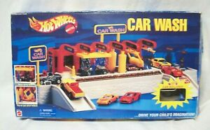 Hot Wheels Car Wash Playset by Mattel 1995 - Incomplete in Original Box