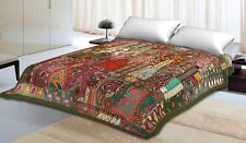Bohemian Handmade Tapestry Patchwork Embroidered Home Decor Vintage Wall Hanging
