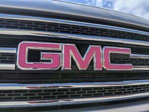 GMC Yukon 2015 2016 2017 2018 2019 Emblem Overlay Decals PRECUT SET   NO CUTTING