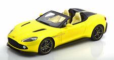 1:18 True Scale Aston Martin Vanquish Zagato Speedster yellowmetallic