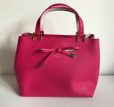 Kate Spade Cherrywood Street Gywn in Cabaret Pink & Pumice Leather Satchel CUTE