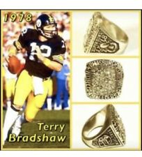 Pittsburgh Steelers Terry Bradshaw 1978 Championship Ring Size 11