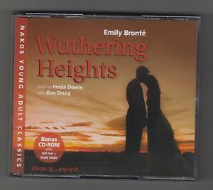 EMILY BRONTE  =  {2xCDs + 1xCD-ROM - AUDIO - FAT-BOX}  =  WUTHERING HEIGHTS  =