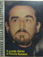 CORRIERE DELLA SERA ILLUSTRATO N.6 1980 VITTORIO GASSMAN