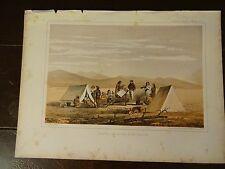 "Lithograph of ""...MR. TINKHAM"" /John Mix Stanley / 1860 Railroad Survey Report"