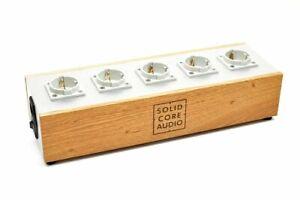 Solid Core Audio Power Supply - Überspannungs schutz Audiophile Netzleiste