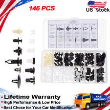 146x Fender Door Hood Bumper Trim Clip Body Retainer Assortment  8174 for Toyota