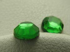 3 gross Hotfix Iron-on Glass Rhinestones SHAMROCK GREEN 432 pieces 3mm, 4mm, 5mm