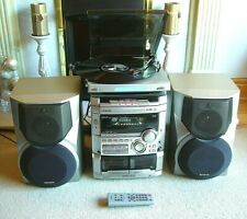AIWA Digital System NSX-S777 plus Bush Turntable & Subwoofer Speakers System