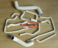 Silicone Radiator&Heater Hose For Subaru Impreza WRX/STi GD GDB EJ207 02-07 WHIT