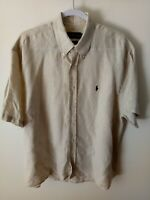 "[16] RALPH LAUREN Mens Shirt Size XL, Long Sleeve, Button Up ""Blaire"""