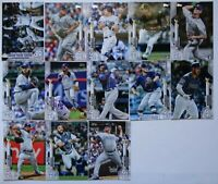 2020 Topps Series 1 San Diego Padres Base Team Set 13 Baseball Cards