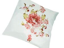 2 Stück Kissenhülle Kissenbezug Kissenbezüge mit Blumen Motiv ca. 38 x 38 cm