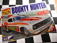 "MPC 1:25 SCALE CONNIE KALITTA'S ""BOUNTY HUNTER"" FUNNY CAR PLASTIC MODEL KIT"