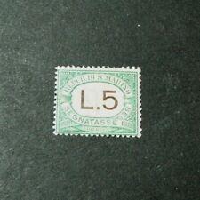 San Marino Stamp Scott#  J17  Postage Due  1924  MH L310