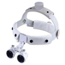 Dental 3.5X420mm Headband Surgical Medical Lamp Binocular Loupes DY-108 White